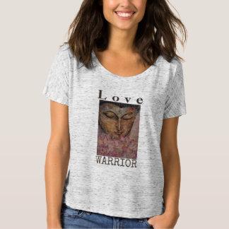 Camiseta de Flowy del arte de Buda del guerrero