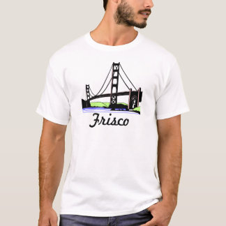 Camiseta de Frisco de puente Golden Gate