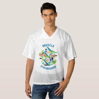 Camiseta De Fútbol Americano Para Hombre Músculo sintetizado