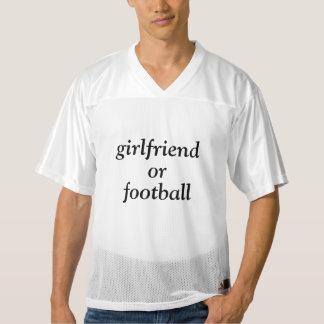 Camiseta De Fútbol Americano Para Hombre novia o fútbol