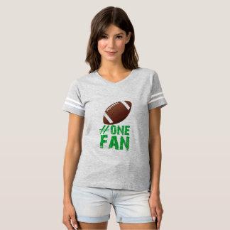 Camiseta de fútbol de las señoras de la fan #1