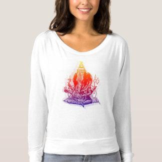 Camiseta de Ganesha Flowy de las mujeres