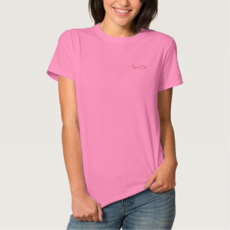 Camiseta de giro del bastón de TwirlGirl - chica