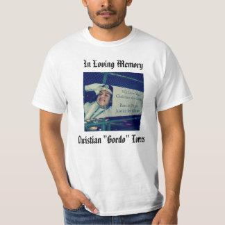Camiseta de Gordo