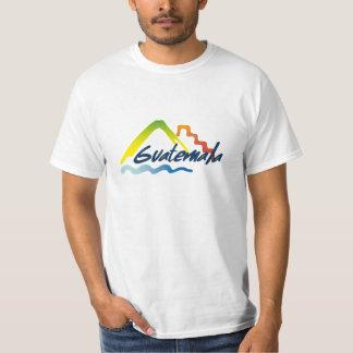 Camiseta de Guatemala del logotipo