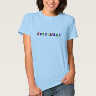 Camiseta de Guatemama