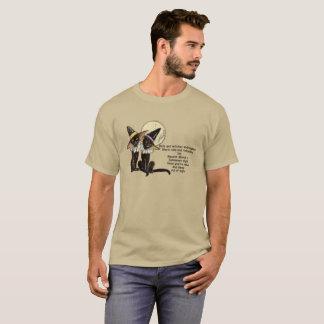 Camiseta de Halloween con los gatos negros en