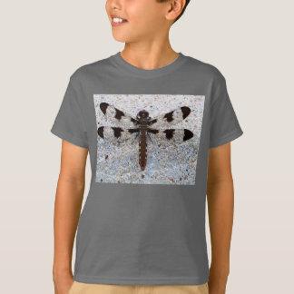Camiseta de Hanes de la libélula de sus niños