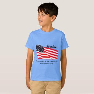 Camiseta de Hanes TAGLESS® de la bandera de la