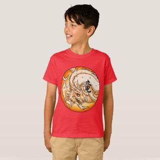Camiseta de Hanes TAGLESS® de los niños chinos del