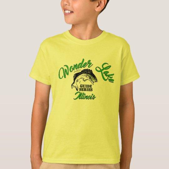 Camiseta de Hanes TAGLESS® de los niños del bajo