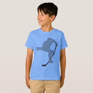 Camiseta de Hanes TAGLESS® de los niños - logotipo