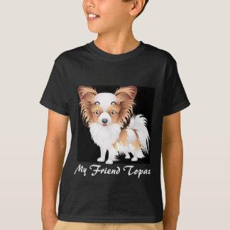 Camiseta de Hanes TAGLESS® de Papillon de los