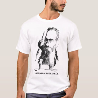 Camiseta de Herman Melville