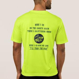 Camiseta de herradura de Tek del deporte del