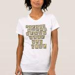 Camiseta de HIP HOP del chica de la mosca