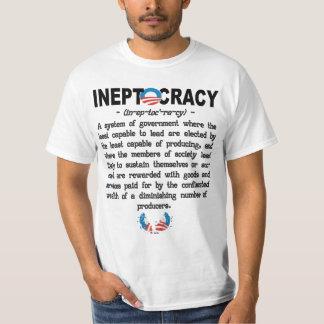 Camiseta de Ineptocracy de la administración de