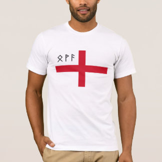 Camiseta de Inglaterra - bandera con las runas