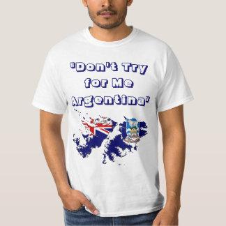 Camiseta de Islas Malvinas