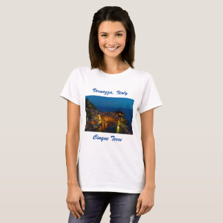 Camiseta de Italia - Vernazza, pueblo de Cinque