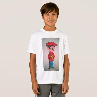 Camiseta de Jake del Deporte-Tek de los niños