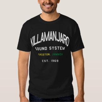 Camiseta de Jamaica del sistema de sonido de