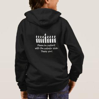 Sudadera Camiseta de Jánuca del autismo - oscuridad