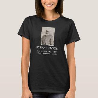 Camiseta de Josiah Henson (oscura)