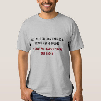 Camiseta de Juan DiMaggio