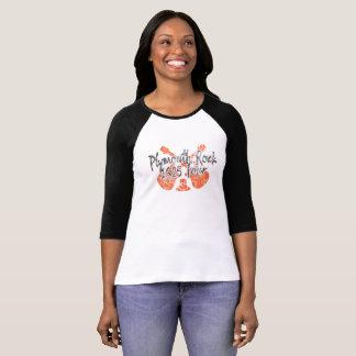 Camiseta de la acción de gracias de Plymouth Rock