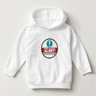 Camiseta de la alarma de la alergia alimentaria