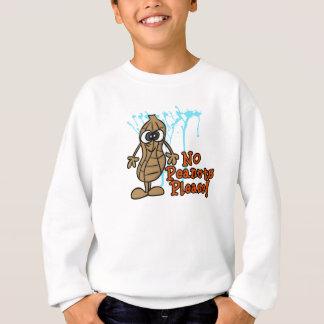 Camiseta de la alarma de la alergia del cacahuete