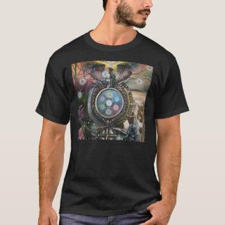 camiseta de la alquimia de ilustraciones del