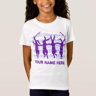 Camiseta de la apariencia vintage de los conejitos