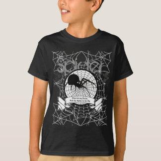 Camiseta de la araña de los niños