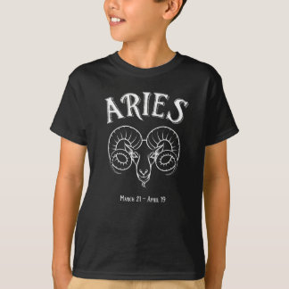 Camiseta de la astrología del zodiaco del espolón