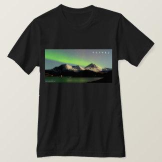 Camiseta de la aurora boreal de Noruega
