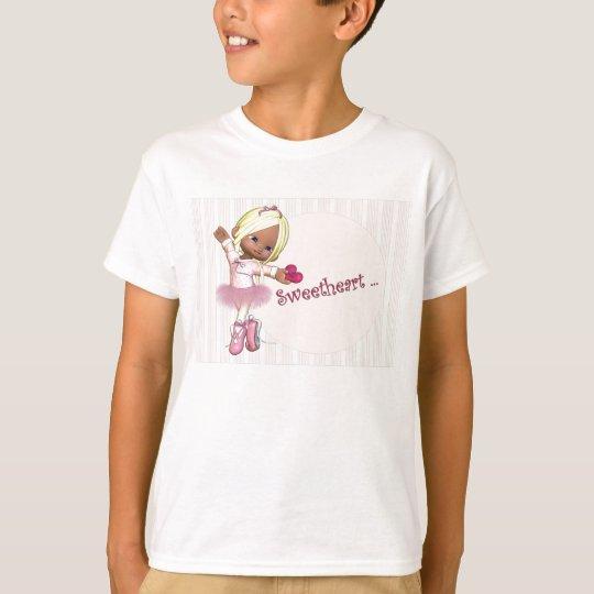 Camiseta de la bailarina del amor
