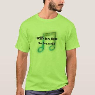Camiseta de la banda de jazz de BCHS