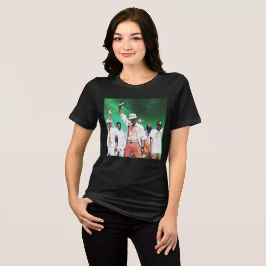 Camiseta de la banda de la menta