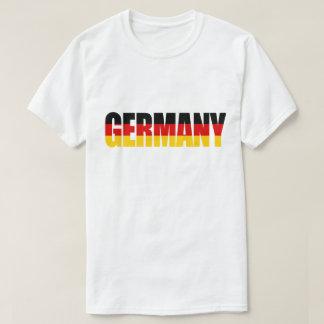 Camiseta de la bandera de ALEMANIA