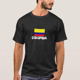 Camiseta de la bandera de Colombia