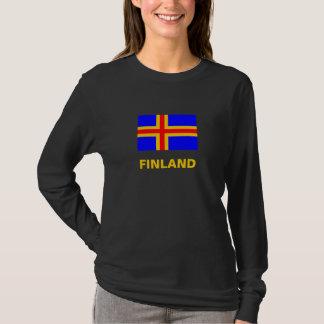 Camiseta de la bandera de Finlandia