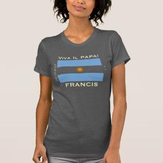 Camiseta de la bandera de FRANCISCO la Argentina