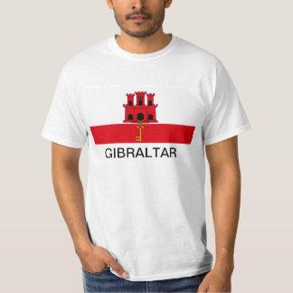 Camiseta de la bandera de Gibraltar