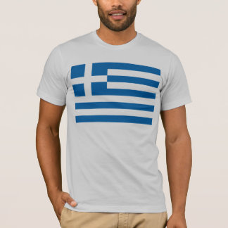 Camiseta de la bandera de Grecia