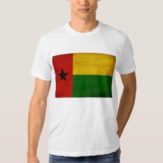 Camiseta de la bandera de Guinea-Bissau