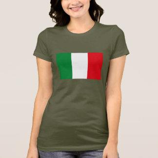 Camiseta de la bandera de Italia