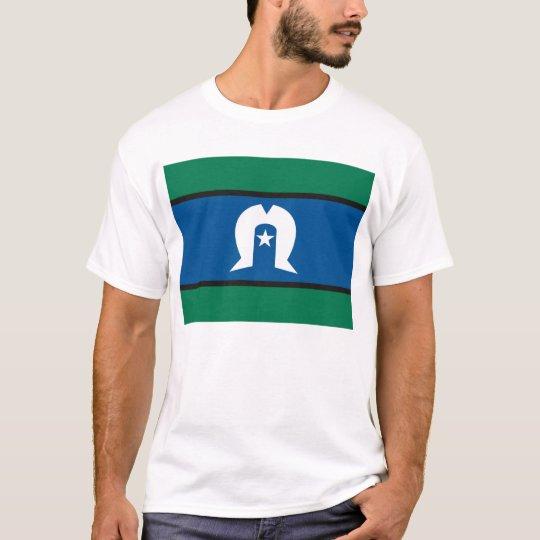 Camiseta de la bandera de las islas del estrecho