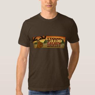 Camiseta de la bandera de los alces de los hombres